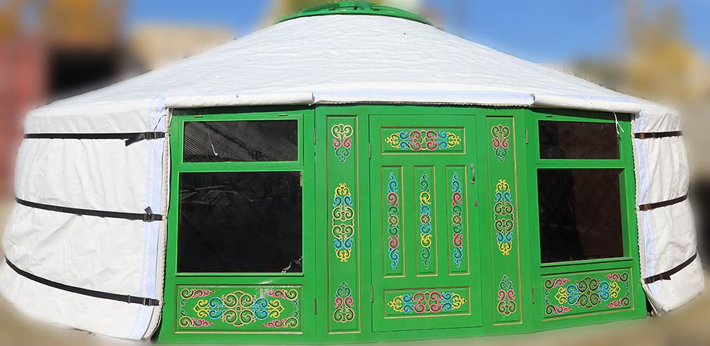 26ft Mongolian yurt