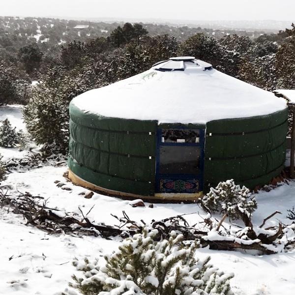 Mongolian vs. Modern Yurts 2