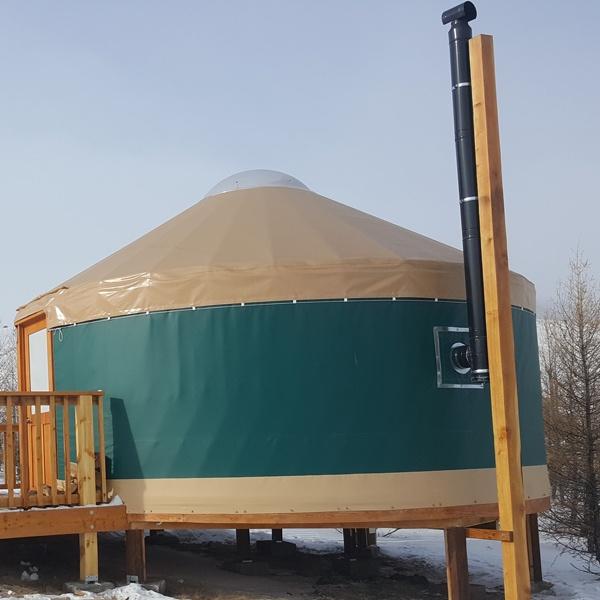 Mongolian vs. Modern Yurts 1